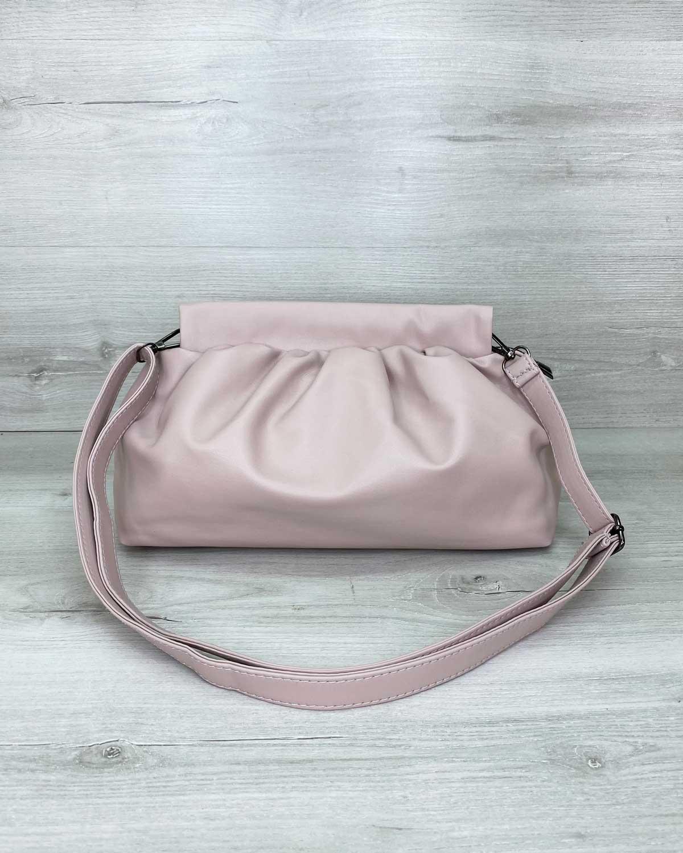 Женская сумка «Vivian» пудровая