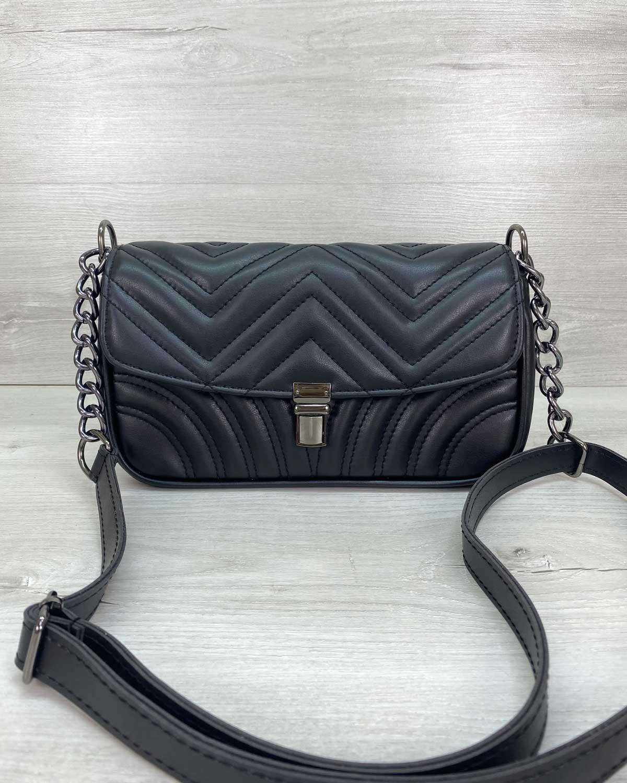 Женская сумка «Джуди» черная