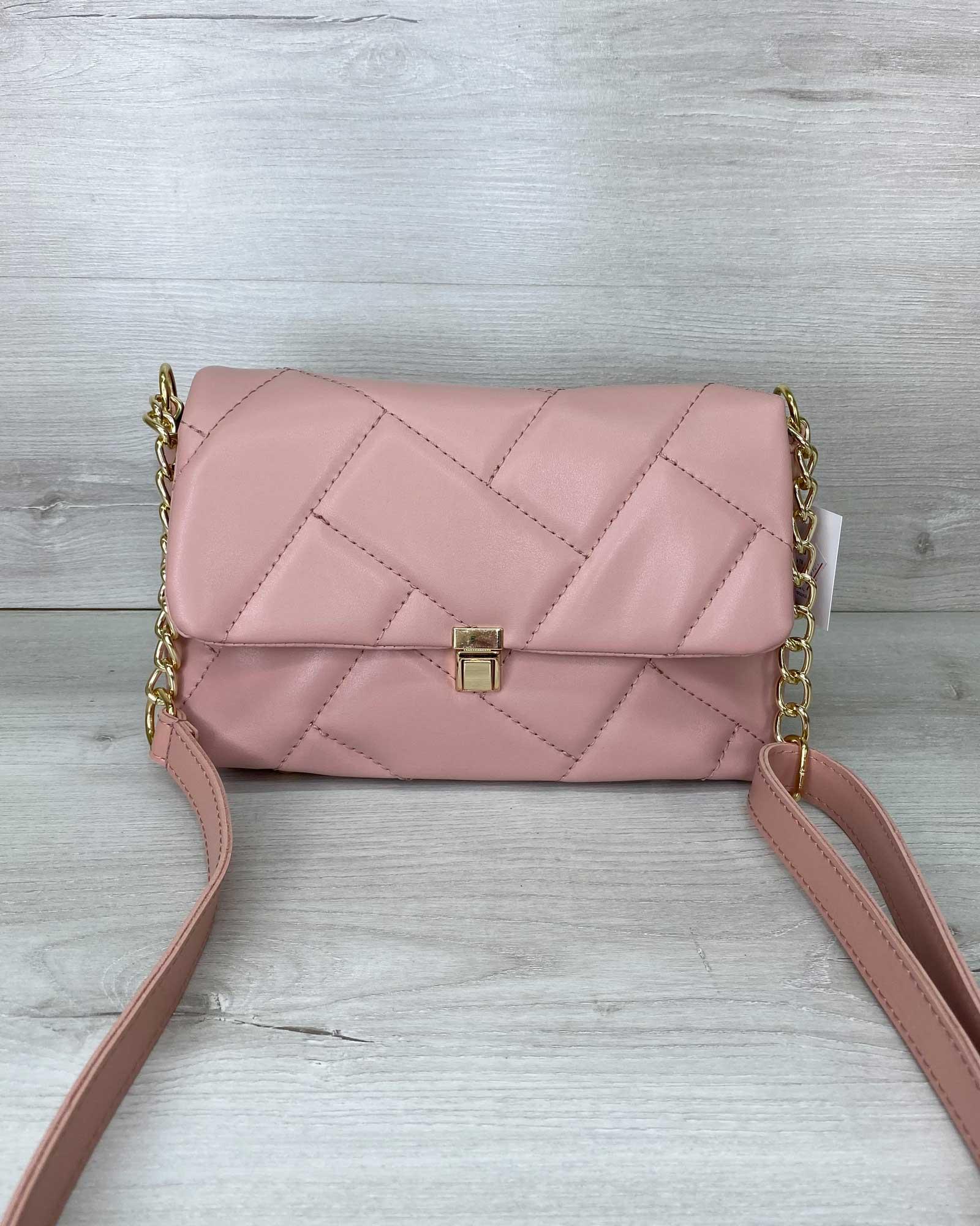 Женская сумка «Паркер» пудра