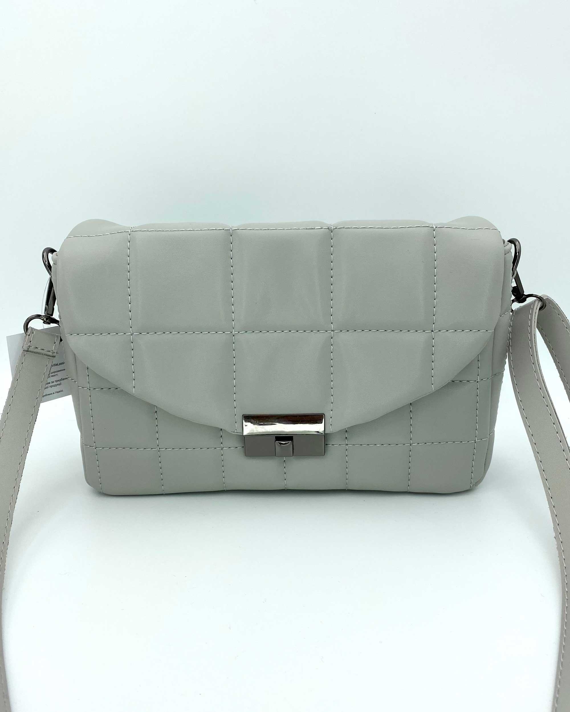 Женская сумка «Ронни» серая