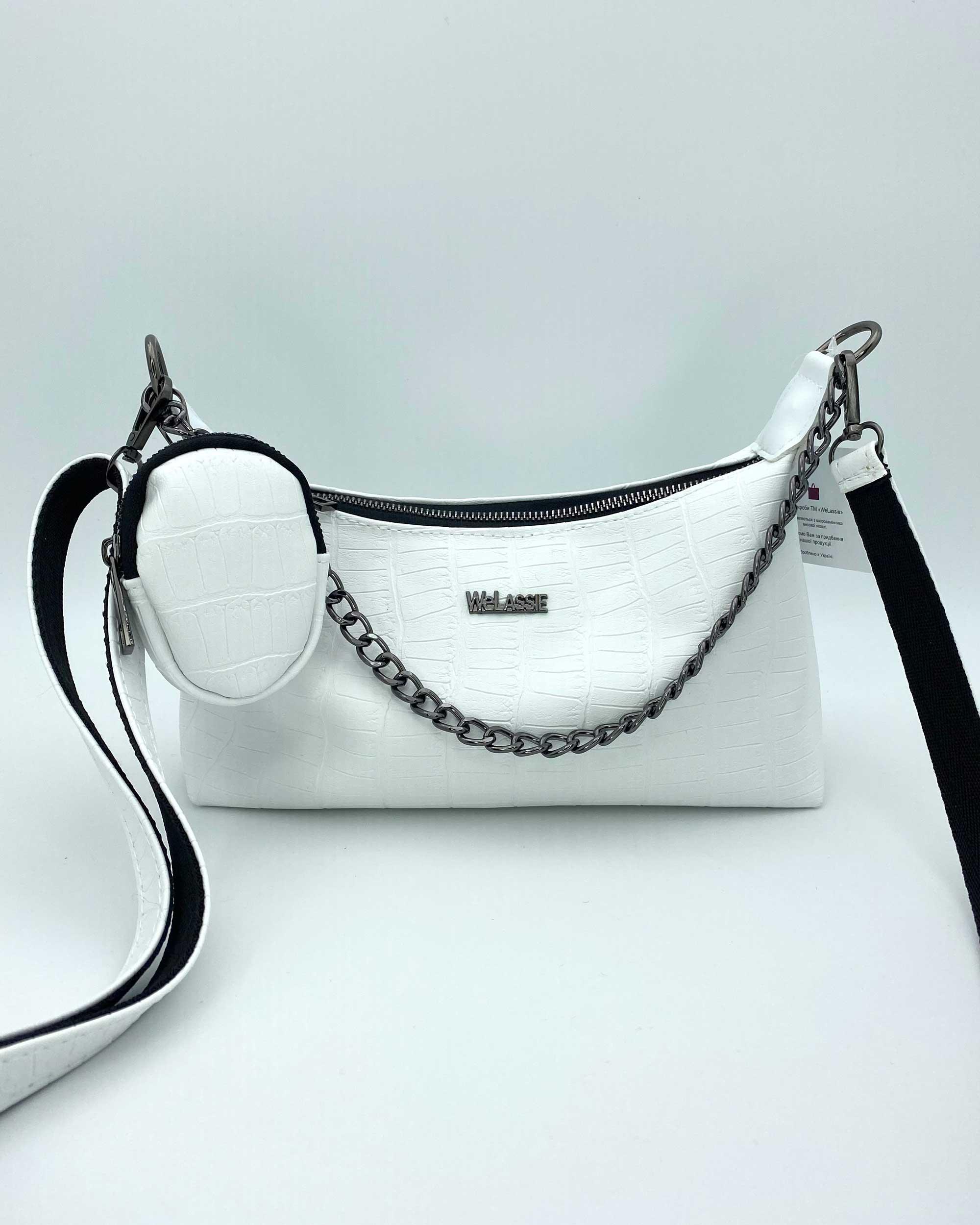 Женская сумка «Лойс» белая