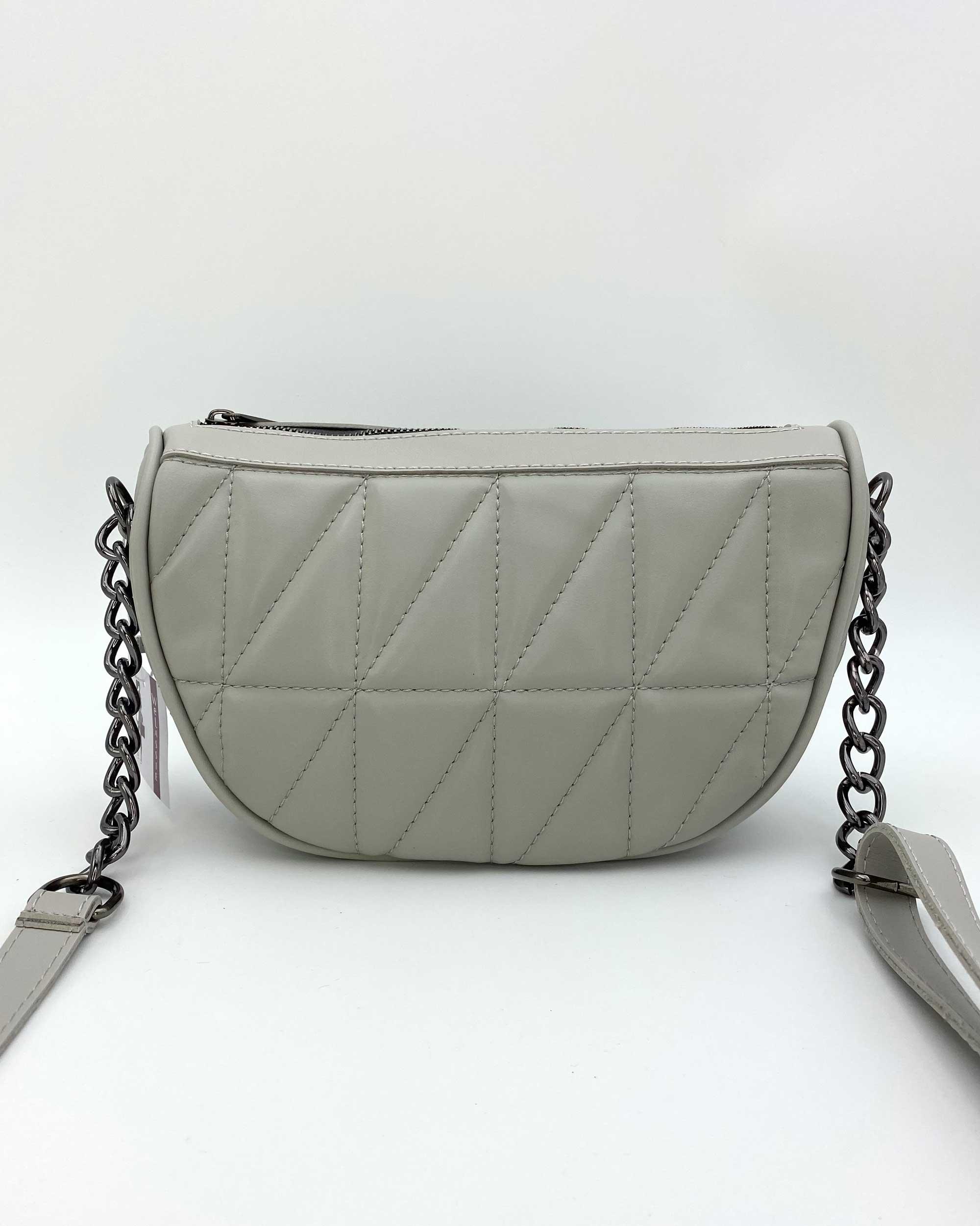 Женская сумка «Лайзи» серая