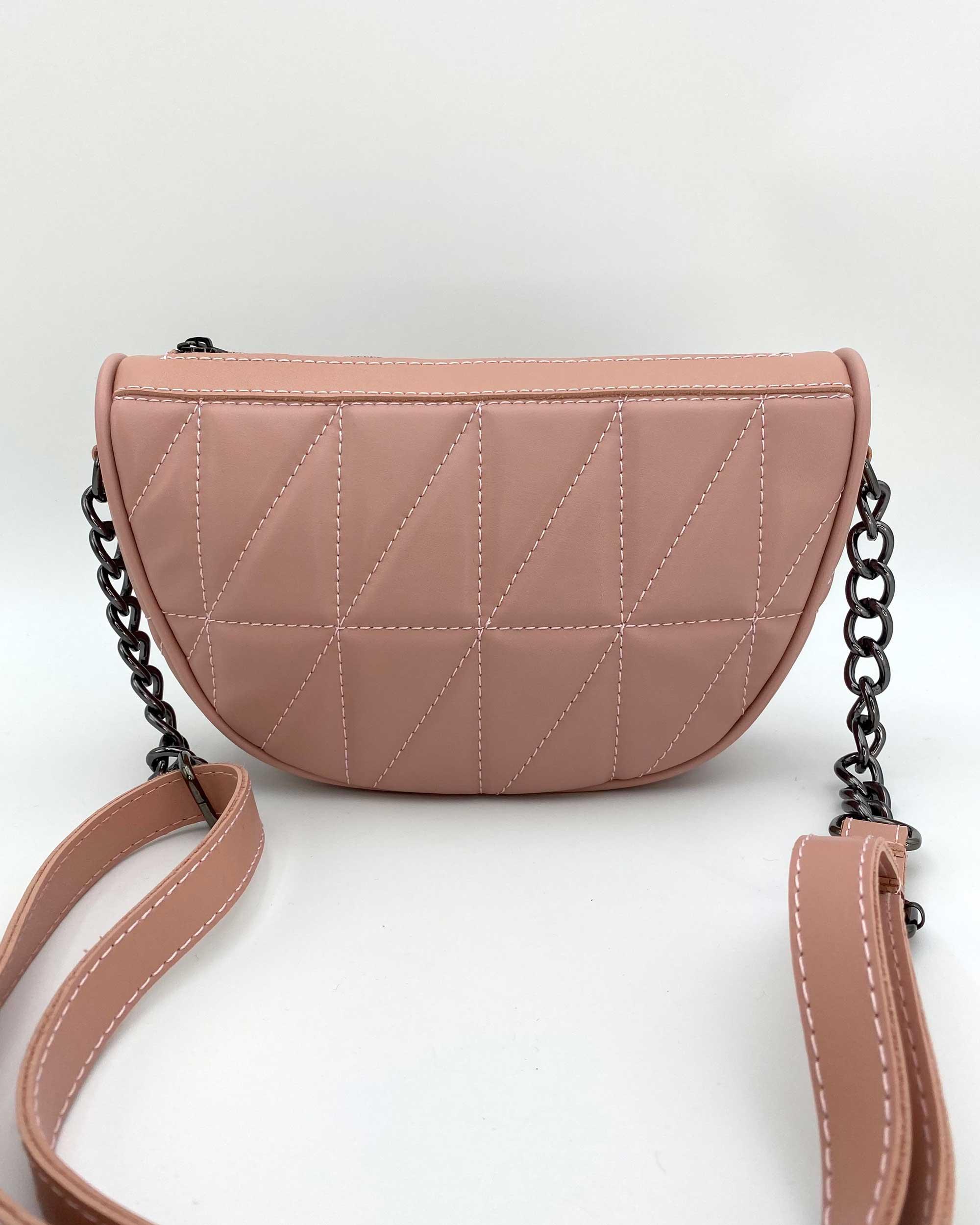 Женская сумка «Лайзи» пудра