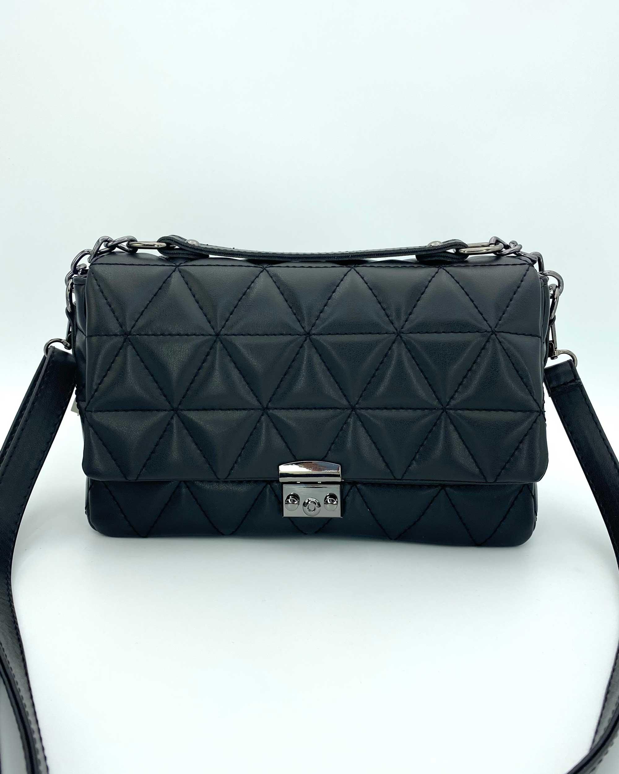 Женская сумка «Обри» черная