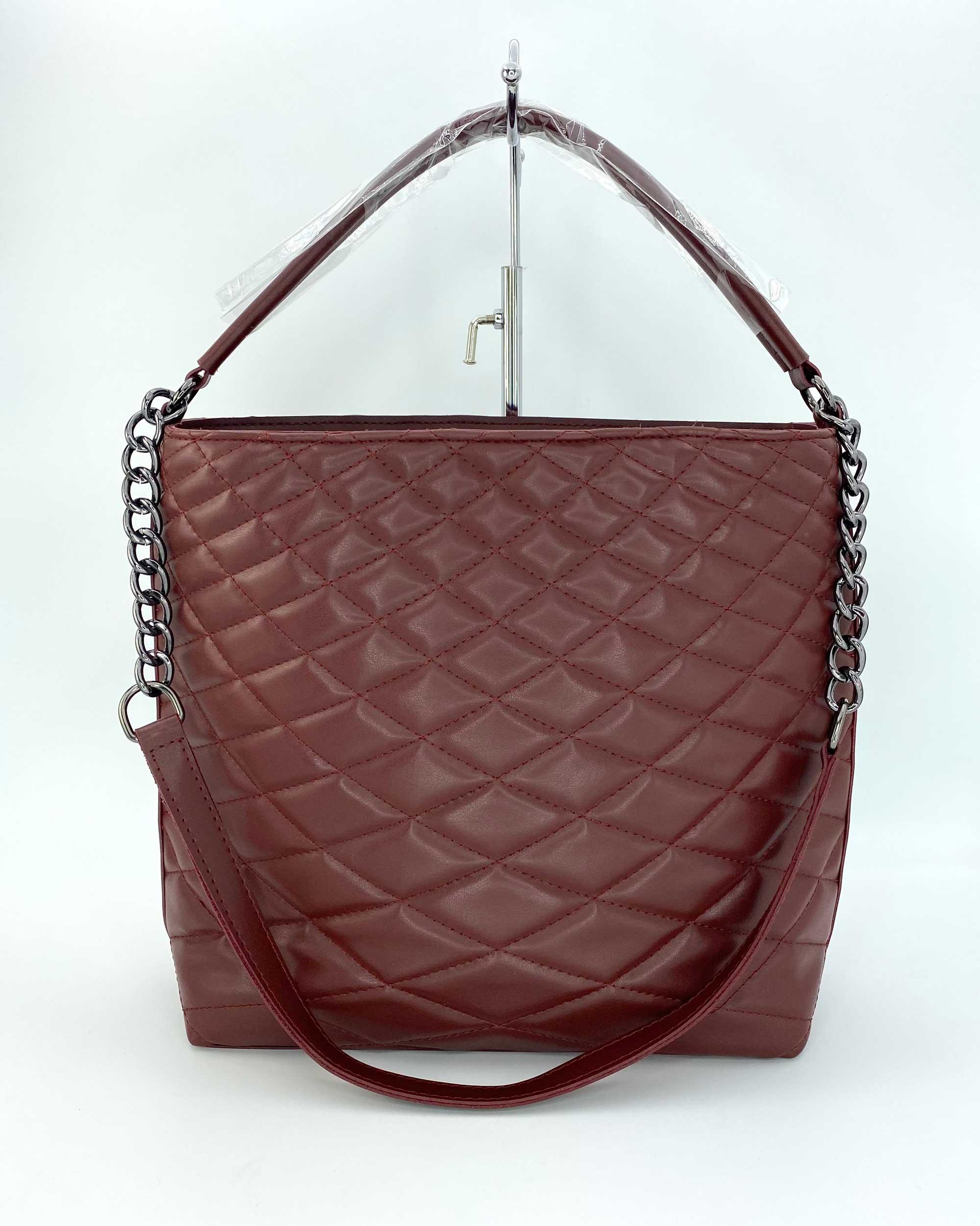 Женская сумка «Эрмин» марсал