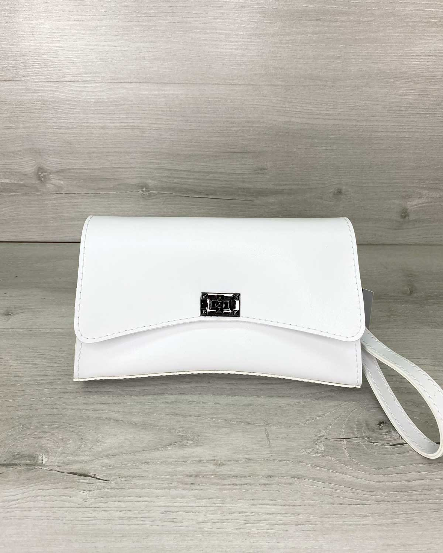 Женская сумка «Пэт» белая