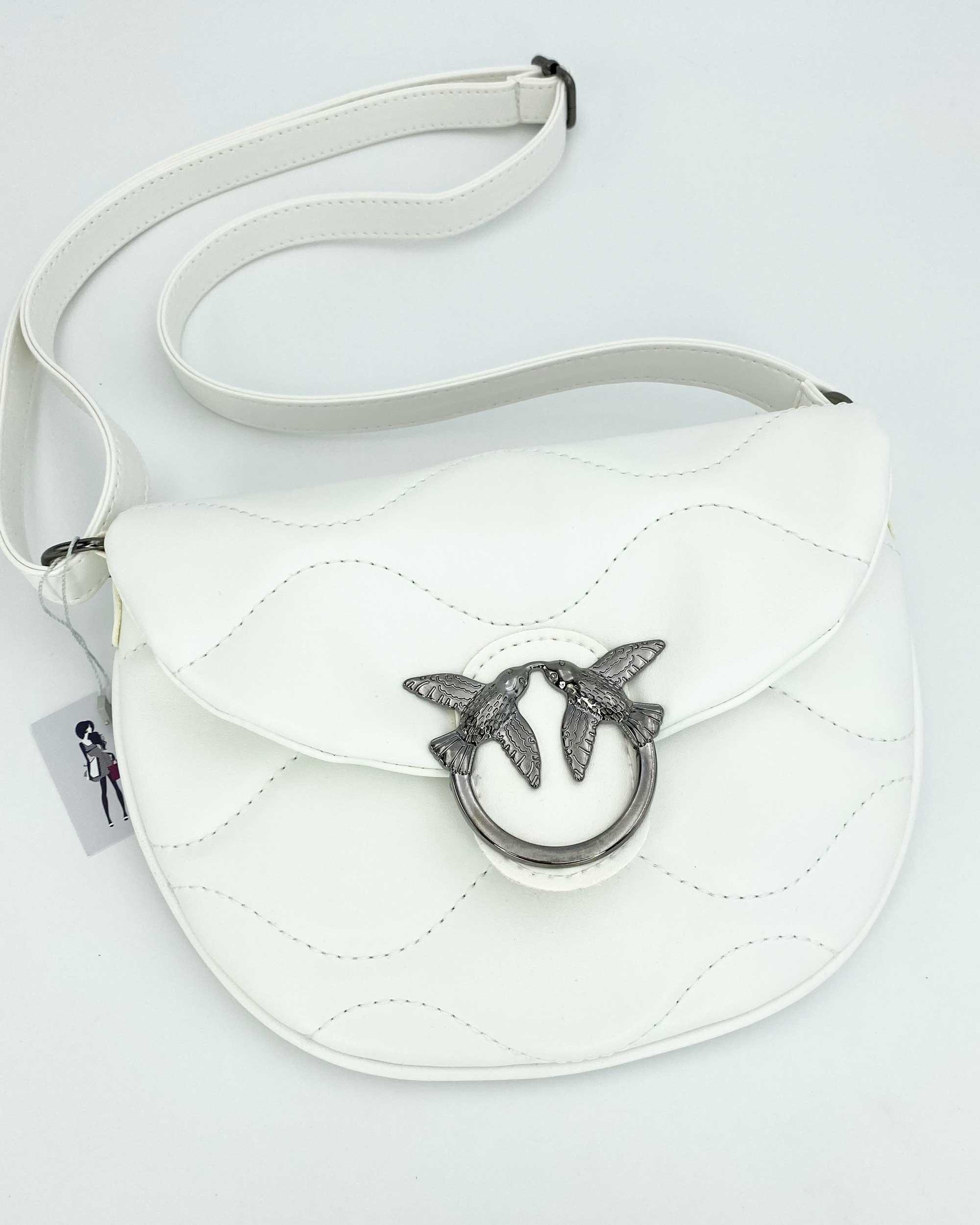 Женская сумка «Джасти» белая