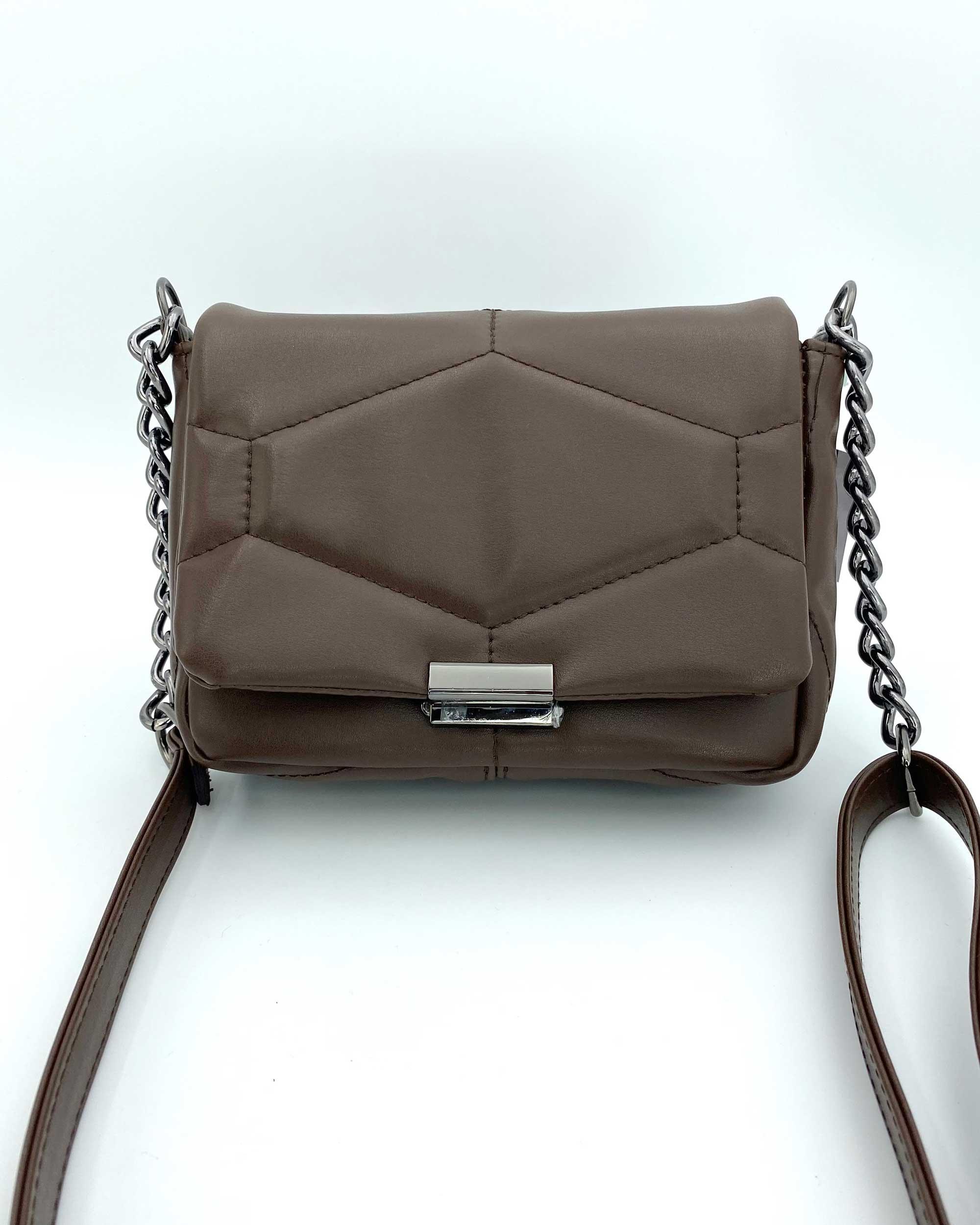 Женская сумка «Санди» шоколадная