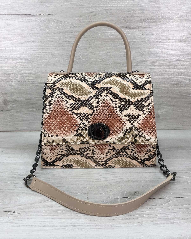 Женская сумка Lana бежевая
